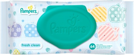 Серветка Pampers Fresh Clean / Sensative.. Черновцы. фото 1