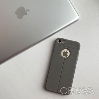 Чехол силиконовый «Auto Focus» на iPhone 5/5
