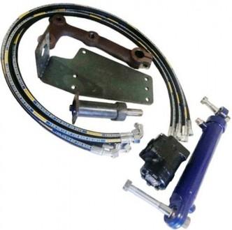 Комплект переоборудования ЮМЗ-6 насосом дозатором (гидроруль вместо ГУРа). Мелитополь. фото 1