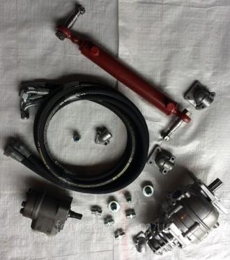 Комплект переоборудования Т-40 насосом дозатором (гидроруль вместо ГУРа). Мелитополь. фото 1