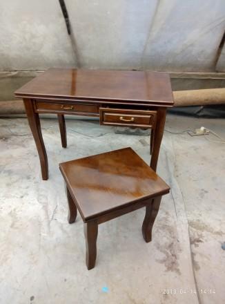 Туалетный стол и стул. Кривой Рог. фото 1