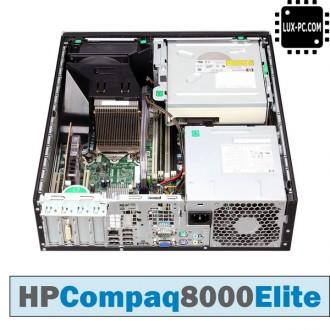 Системный блок HP Compaq 8000 Elite SFF/ E8400 (3.16 ГГц) / RAM 2 ГБ / HDD 160 Г. Киев. фото 1
