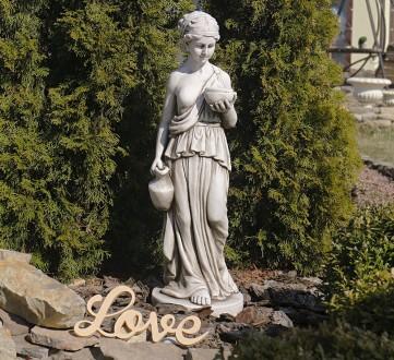 Садовая скульптура Дама с кувшином – красивая статуя женщины в греческом стиле. . Хмельницкий, Хмельницкая область. фото 2