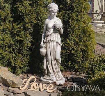 Садовая скульптура Дама с кувшином – красивая статуя женщины в греческом стиле. . Хмельницкий, Хмельницкая область. фото 1