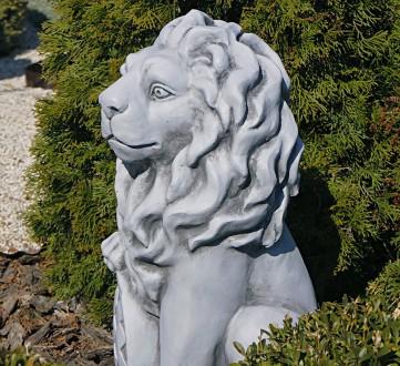 Садовая скульптура Лев – презентабельный декор для сада. Лев - символ власти и с. Хмельницкий, Хмельницкая область. фото 3