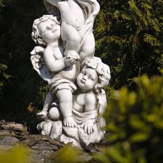 Садовая статуя Три Ангела – не только милый декор для сада, но и оригинальная по. Хмельницкий, Хмельницкая область. фото 3