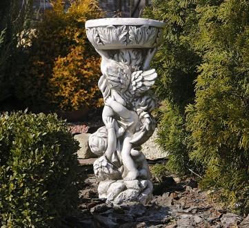 Садовая статуя Три Ангела – не только милый декор для сада, но и оригинальная по. Хмельницкий, Хмельницкая область. фото 5