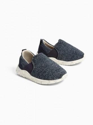 Кеды кроссовки ботиночки зара синие ультрамягкая подошва ZARA. Чернигов. фото 1
