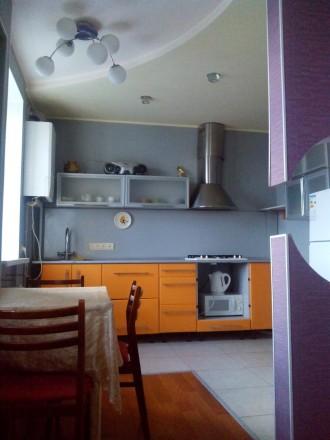 Аренда  двухкомнатную квартиру с автономным отоплением кондиционером в стирально. Кропивницкий. фото 1