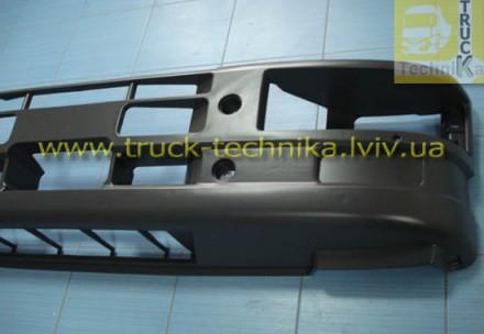 Бампер передний Iveco Eurocargo с отверстиями под галогенки Iveco 500317137, 50. Львов, Львовская область. фото 4