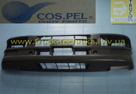 Бампер передний Iveco Eurocargo с отверстиями под галогенки Iveco 500317137, 50. Львов, Львовская область. фото 3
