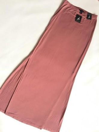 Брендовая облегающая длинная юбка от