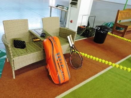 Теннисные корты - искусственная трава - идеальное покрытие для занятий теннисом . Запорожье, Запорожская область. фото 3