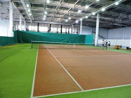 Теннисные корты - искусственная трава - идеальное покрытие для занятий теннисом . Запорожье, Запорожская область. фото 2