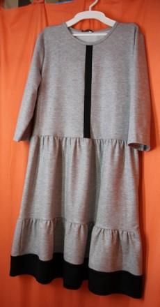 Трикотажне плаття для дівчинки підлітка Тм Mavis Розм. 158-164. Винница. фото 1