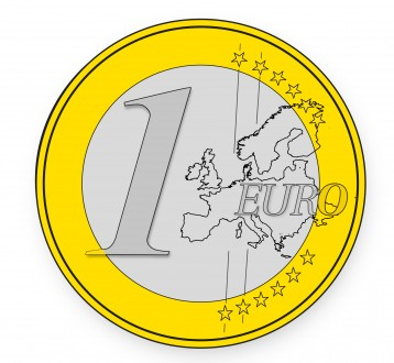 Обмен евро монет (евро, злотый, фунты, франки и других) на Гривну, Киев. Київ. фото 1
