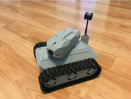 Танковый Ровер с башней. Управление по Wi-Fi. Днепр. фото 1