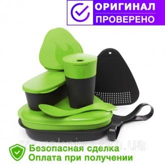 Набор посуды для путешествий Light My Fire MealKit 2.0 зеленый. Первомайский. фото 1