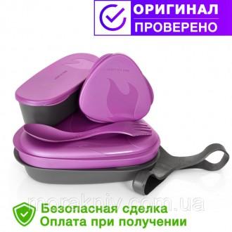 Туристическая посуда набор LunchKit Pinkmetal 41375410. Первомайский. фото 1