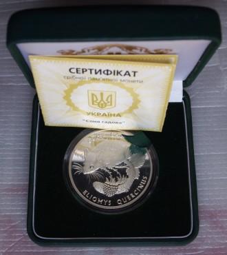 Монета серебро Соня садова 10 грн 1999г.. Харьков. фото 1