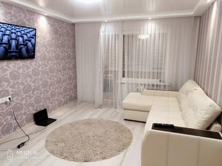 Продается уютная 2х комнатная квартира с евро ремонтом в хорошем районе. Сумы. фото 1