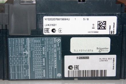Compact NSX 250F TM200D , Schneider Electric автоматический выключатель 200А три. Киев, Киевская область. фото 11