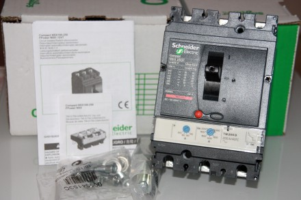 Compact NSX 250F TM200D , Schneider Electric автоматический выключатель 200А три. Киев, Киевская область. фото 2