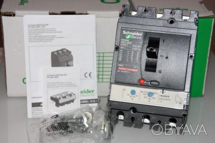 Compact NSX 250F TM200D , Schneider Electric автоматический выключатель 200А три. Киев, Киевская область. фото 1