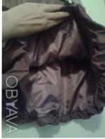 Детский нарядный костюм: жакет и юбка. Ткань - тафта-хамелеон, жатка: цвет кори. Киев, Киевская область. фото 5