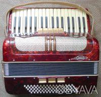 Раритетный винтажный аккордеон Grimm (3/4). Киев. фото 1