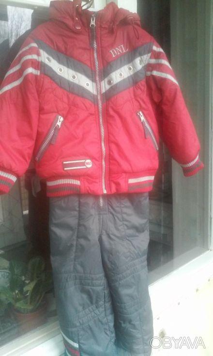Деми комбинизон для мальчика DONILO в очень хорошем состоянии. Размер указан 92с. Киев, Киевская область. фото 1