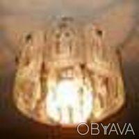 Шикарная хрустальная люстра на шесть лампочек. Киев. фото 1