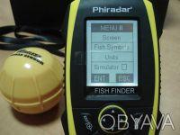 Беспроводной эхолот Phiradar FF268W  Тип дисплея: 4 уровня серого LCD V128XH96. Киев, Киевская область. фото 10