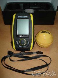 Беспроводной эхолот Phiradar FF268W  Тип дисплея: 4 уровня серого LCD V128XH96. Киев, Киевская область. фото 7