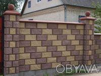 Предприятие производит и реализует бетонные стеновые вибропрессованые блоки.  . Киев, Киевская область. фото 4