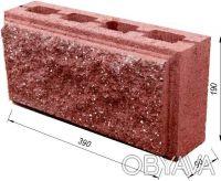 Предприятие производит и реализует бетонные стеновые вибропрессованые блоки.  . Киев, Киевская область. фото 2