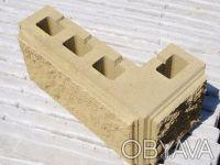 Предприятие производит и реализует бетонные стеновые вибропрессованые блоки.  . Киев, Киевская область. фото 3