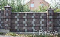 Предприятие производит и реализует бетонные стеновые вибропрессованые блоки.  . Киев, Киевская область. фото 6