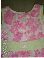 оч. милое платье - сарафан с натуральной ткани по бирке 12-18см но реально до 3л. Киев, Киевская область. фото 5