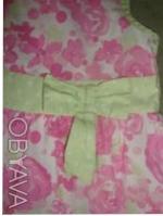 оч. милое платье - сарафан с натуральной ткани по бирке 12-18см но реально до 3л. Киев, Киевская область. фото 4