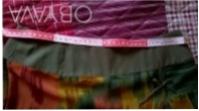Цветная шифоновая юбка на однотонной шифоновой подкладке.Впереди с боку разрез у. Киев, Киевская область. фото 5