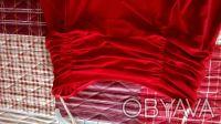 Юбка с воланами и драпировкой на поясе из трикотажа масло. Низ асимметричный .Тр. Киев, Киевская область. фото 4
