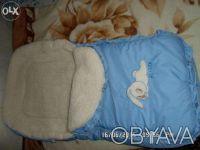 продаю детский конверт для новорожденных, хороший в отличном состоянии на овчине. Киев, Киевская область. фото 3
