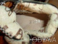 продаю детские демисезонные ботинки  черного цвета в отличном состоянии, разме. Київ, Київська область. фото 3
