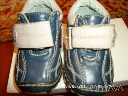 Продаю детские ботинки в отличном состоянии, размер- 20, по стельке 12 см, внутр. Киев, Киевская область. фото 1
