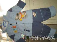 Продаю детский балоневый костюм на синтепоне, 8- размер, на 1 годик. Куртка на . Киев, Киевская область. фото 3