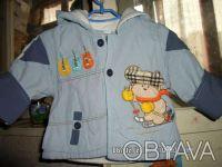 Продаю детский балоневый костюм на синтепоне, 8- размер, на 1 годик. Куртка на . Киев, Киевская область. фото 2