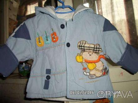 Продаю детский балоневый костюм на синтепоне, 8- размер, на 1 годик. Куртка на . Киев, Киевская область. фото 1
