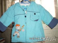 Продаю детский балоневый костюм на синтепоне,бирюзового цвета куртка + штаны, р. Киев, Киевская область. фото 3