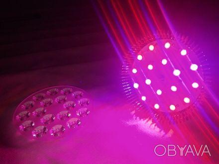 Фитолампа для растений 54Вт (двойной спектр света)